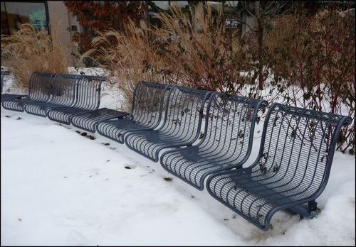 Snow-benches