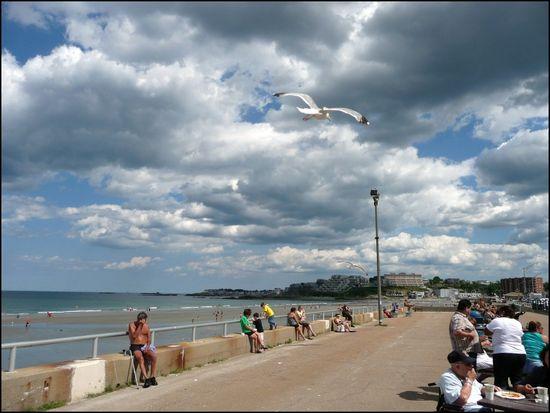 Nantasket Beach Hull Machusetts 8 7 10