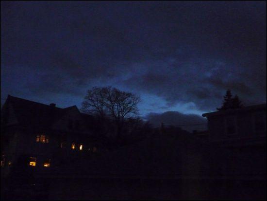 Night Sky Last Outside My Window