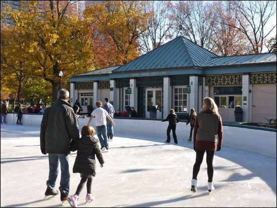 FrogPond-skating