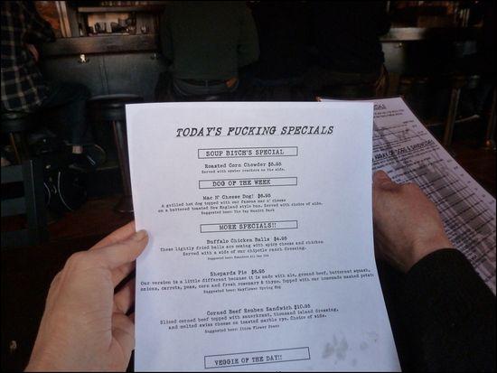 Bukowskis-menu